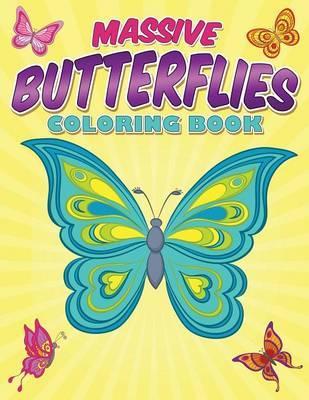 Massive Butterflies Coloring Book