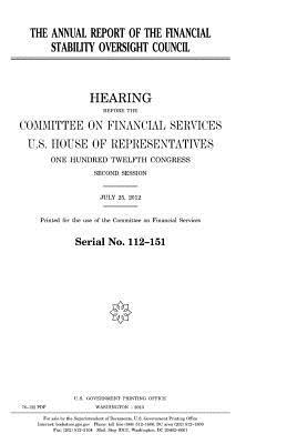 The Annual Report of the Financial Stability Oversight Council