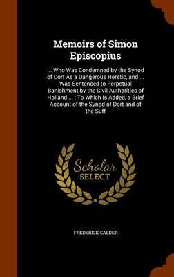 Memoirs of Simon Episcopius