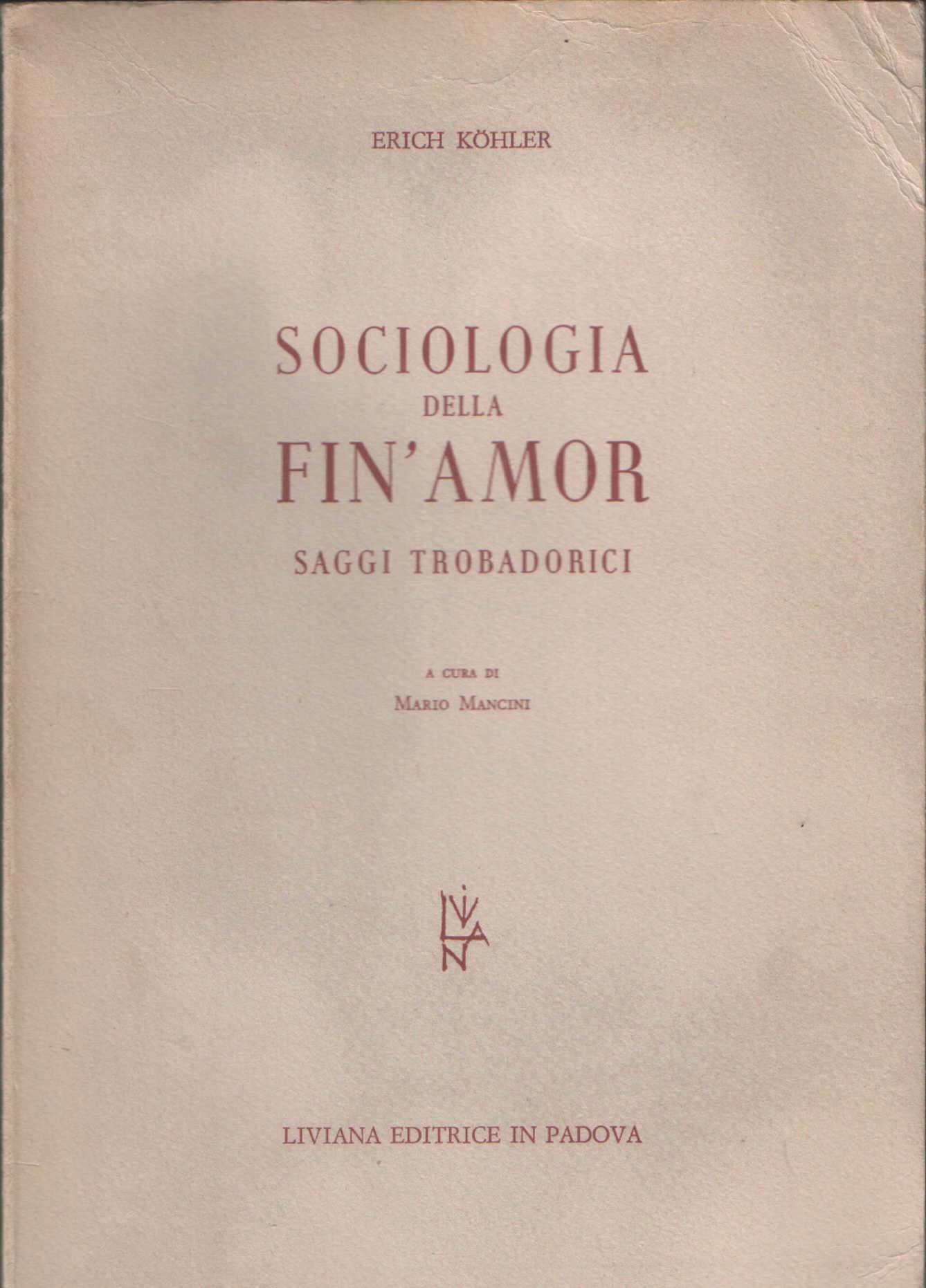 Sociologia della fin'amor