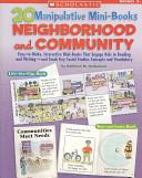 20 Manipulative Mini-Books: Neighborhood and Community
