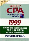 4 Volume Set, Wiley CPA Examination Review, 1999 Edition