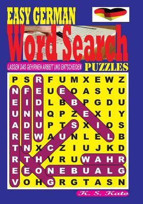 Easy German Word Search Puzzles