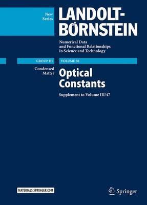 Optical Constants