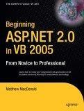 Beginning ASP.NET 2.0 in VB 2005