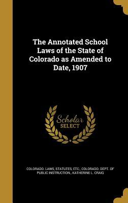 ANNOT SCHOOL LAWS OF THE STATE