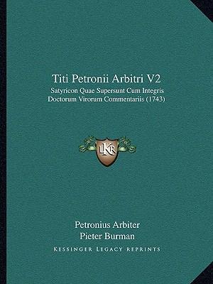 Titi Petronii Arbitri V2