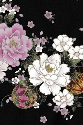 Japanese Flower Embroidery Print Journal