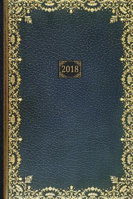 Golden Teal 2018 Planner Diary
