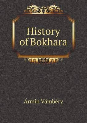History of Bokhara