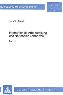 Internationale Arbeitsteilung und nationales Lohnniveau