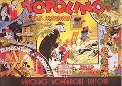 Topolino: strisce giornaliere 1945