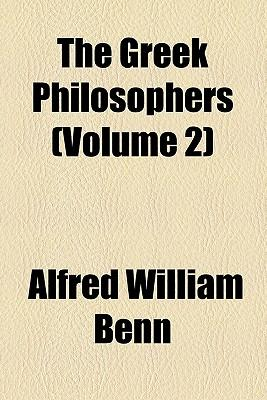 The Greek Philosophers (Volume 2)