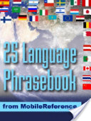 Multi-Language Phrasebook for Smartphones and Mobile Devices
