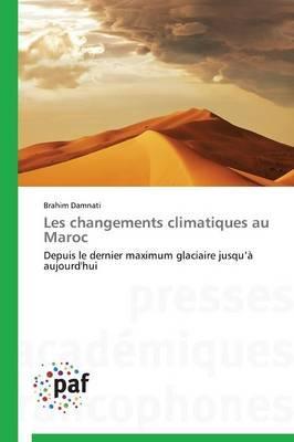 Les Changements Climatiques au Maroc