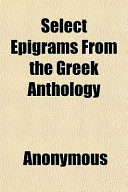 Select Epigrams from...