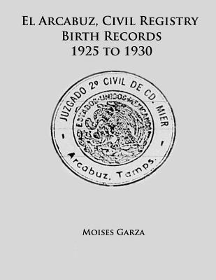 El Arcabuz, Civil Registry Birth Records 1925 to 1930