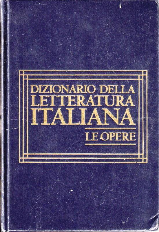 Dizionario della letteratura italiana