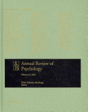 Annual Review of Psychology 2010