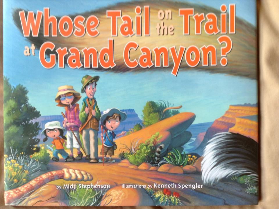 Whose Tail on the Trail at Crand Canyon