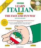 Learn Italian the Fast and Fun Way w/4 CDs