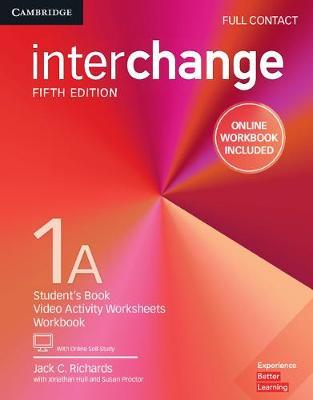 Interchange Level 1A Full Contact with Online Self-Study and Online Workbook