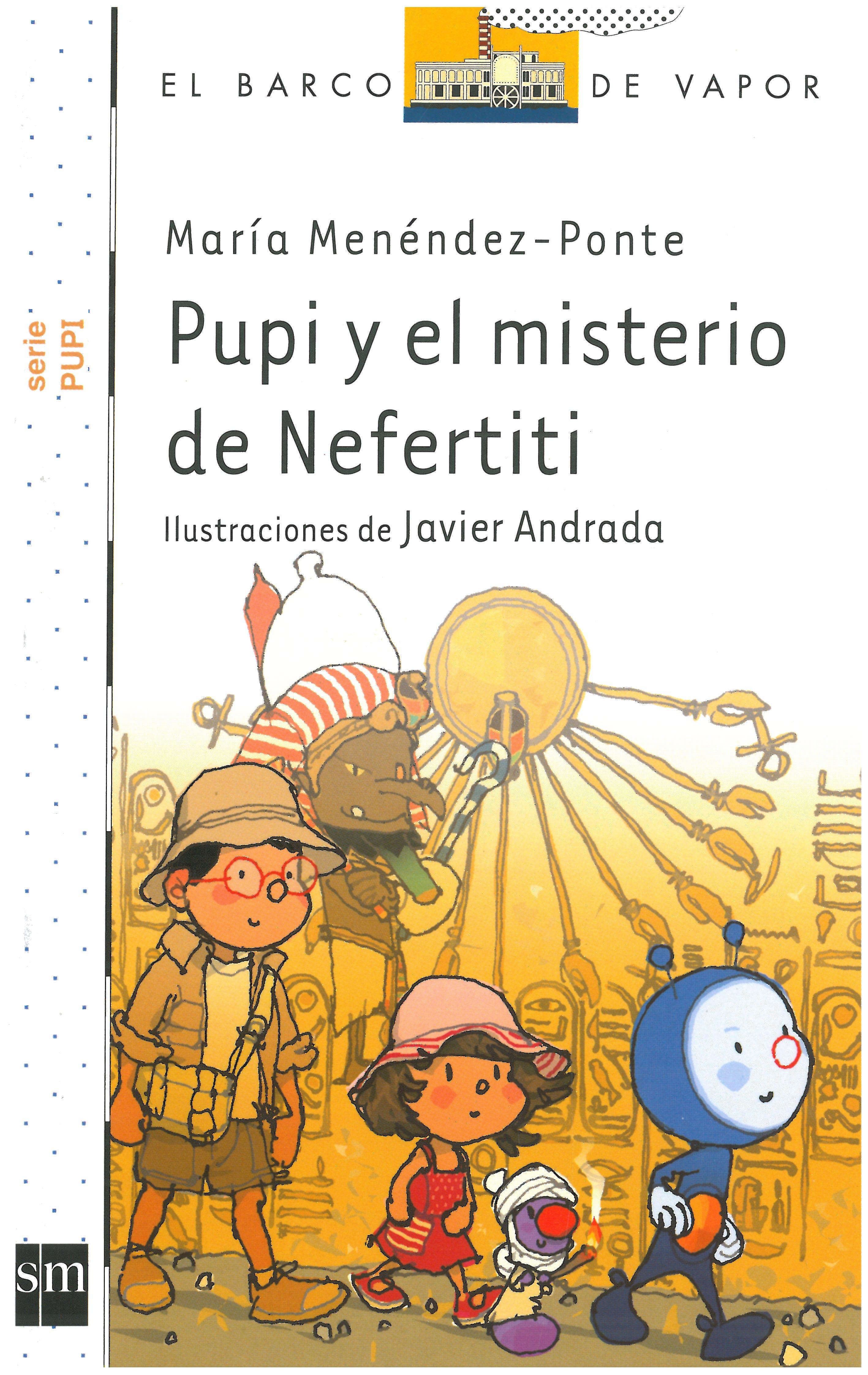 Pupi y el misterio de Nefertiti