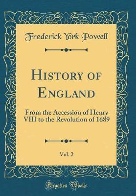 History of England, Vol. 2