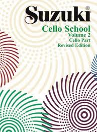 Suzuki Cello School. Cello Part. Volume 2