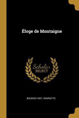 Éloge de Montaigne