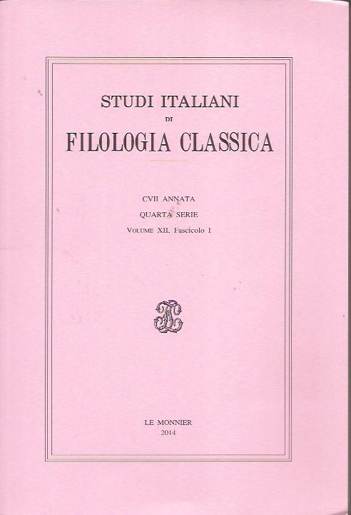 Studi italiani di fi...