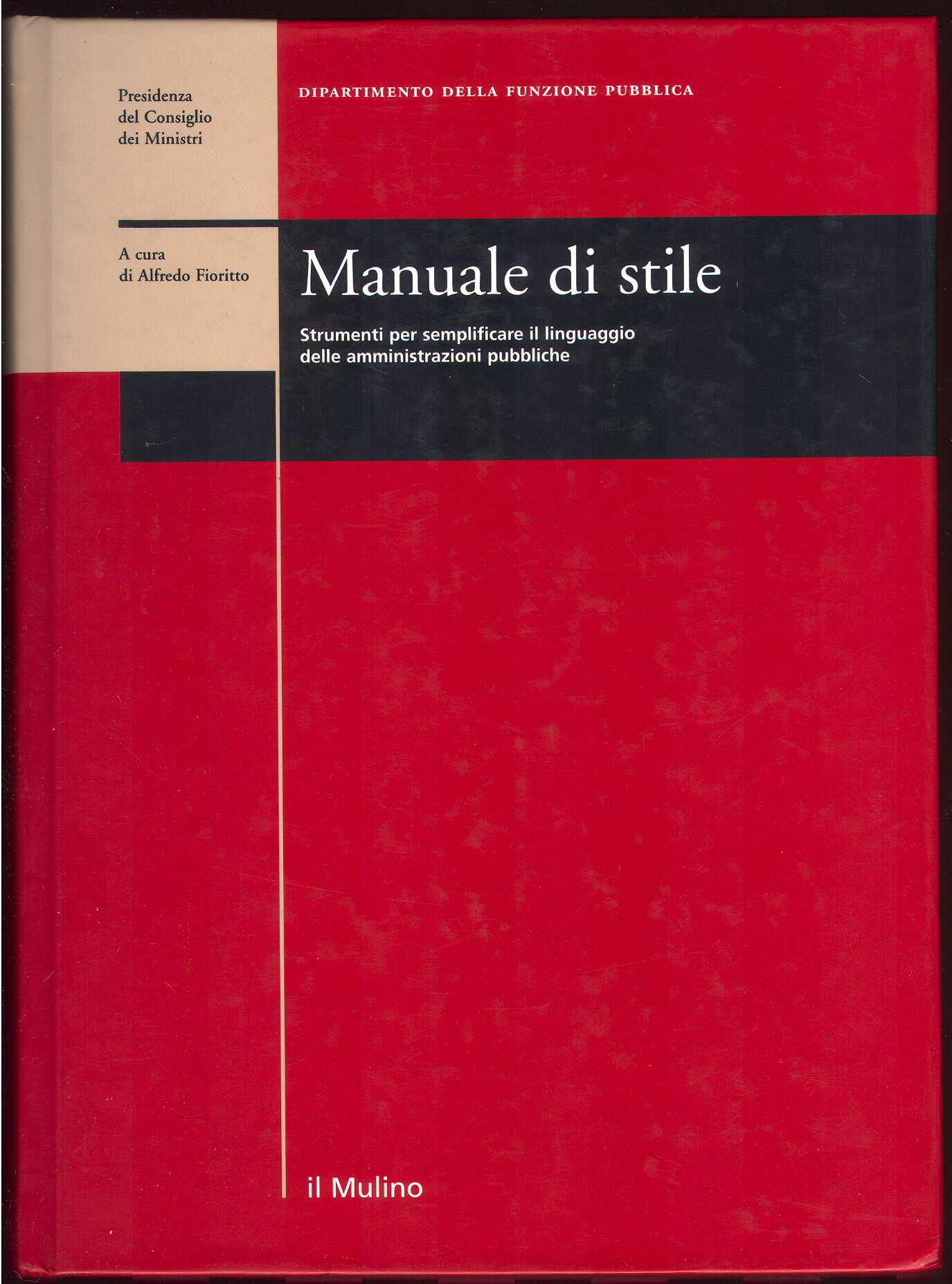 Manuale di stile