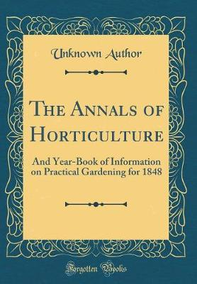 The Annals of Horticulture
