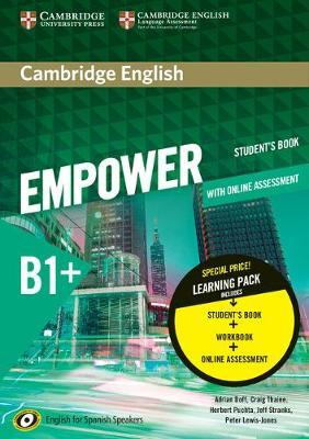 Cambridge English Empower for Spanish Speakers B1+ Learning Pack + Online Assessment, Practice and Workbook