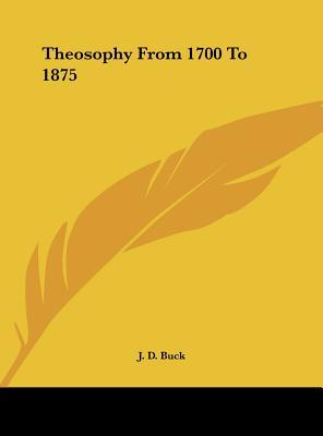 Theosophy from 1700 to 1875