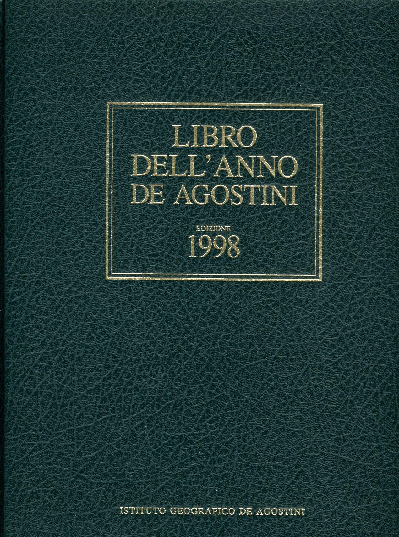 Libro dell'anno De Agostini Edizione 1998