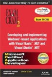 MCAD Developing and Implementing Windows-based Applications with Microsoft Visual Basic