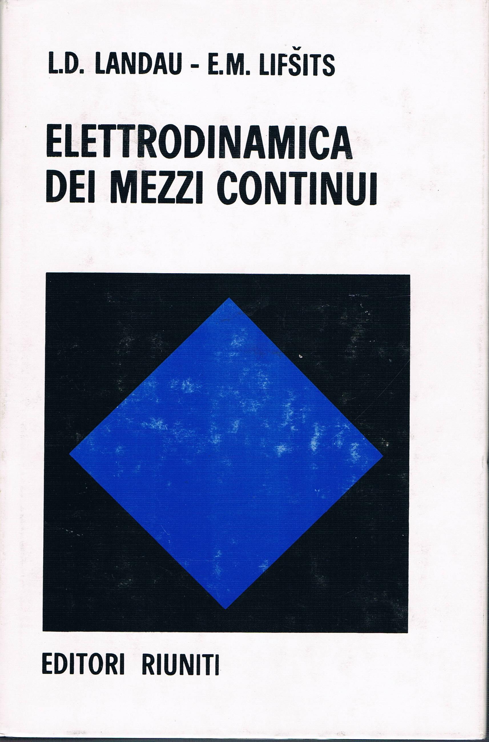 Elettrodinamica dei ...