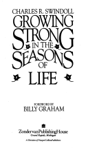 Growing Strong in the Season of Life