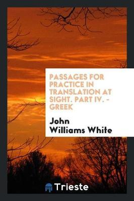 Passages for Practic...