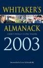 Whitaker's Almanack 2003