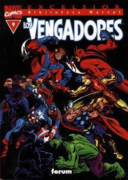 Biblioteca Marvel: Los Vengadores #9