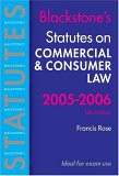 Statutes on Commercial and Consumer Law 2005-2006