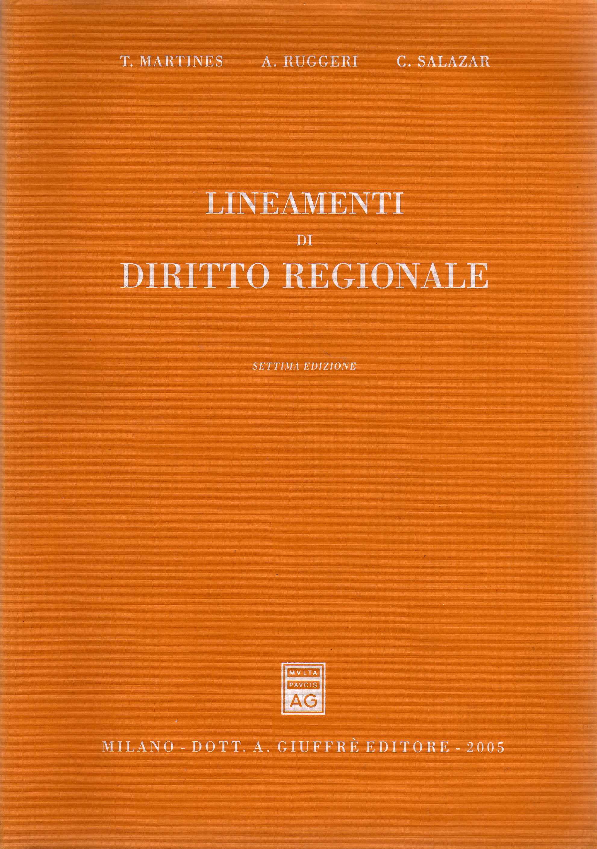 Lineamenti di diritto regionale