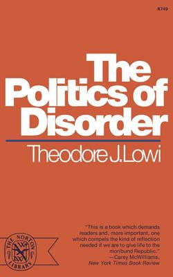 Politics Of Disorder