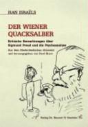 """Der"" Wiener Quacksalber"