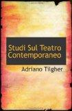 Studi Sul Teatro Contemporaneo