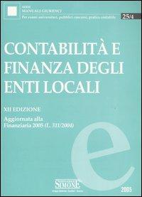 Contabilità e finanza degli enti locali