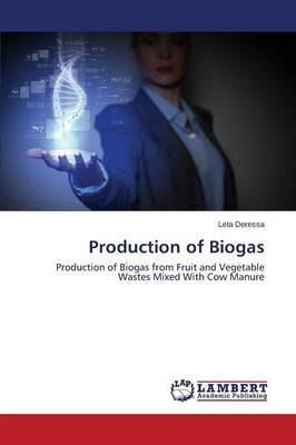 Production of Biogas