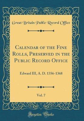 Calendar of the Fine...